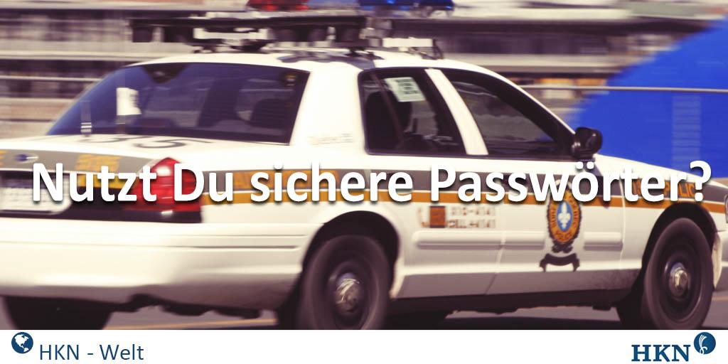 Sichere Passworte