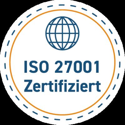 ISO 27001 zertifizierte Rechenzentrums Standorte