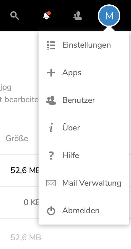 Zimbra Mail-Verwaltung