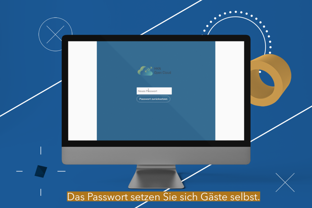 Nextcloud neues Passwort setzen
