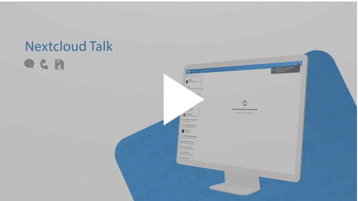 Video: So funktioniert die Nextcloud-Talk Integration