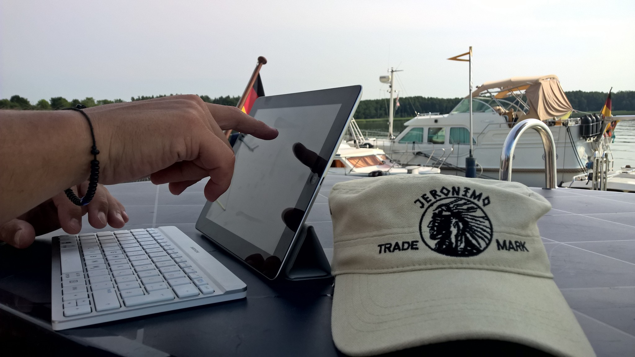 Mein Arbeitsplatz als Bootblogger 2016